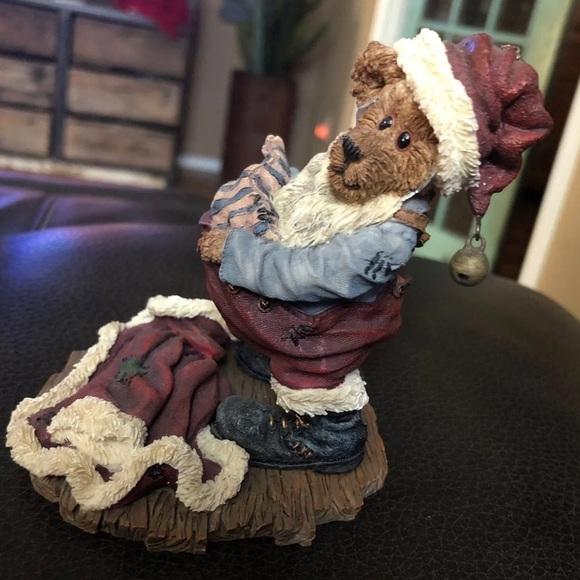 Boyds Bears S. Kringlebeary Santa Wannabe